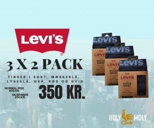 Kopi af LEVIS 3 x 2 Pack (1)